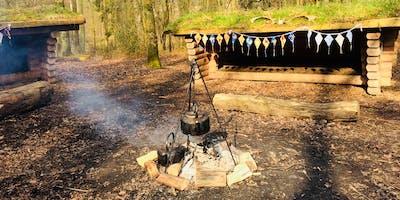 Family Camp at Fineshade Wood PETERBOROUGH