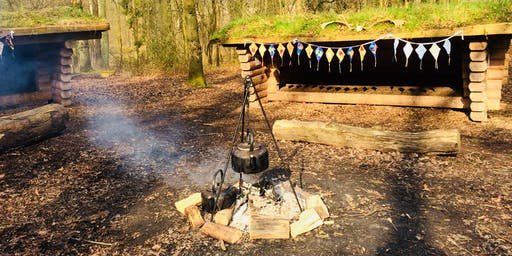 Family Camp at Fineshade Wood PETERBOROUGH