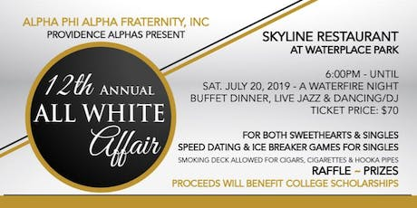 Providence Alpha's 12th Annual All White Affair tickets