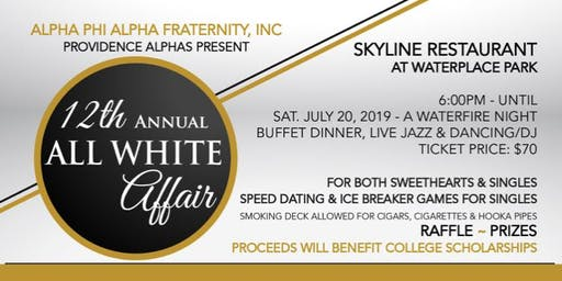 Providence Alpha's 12th Annual All White Affair