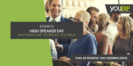 Evento - High Speaker Day  ingressos