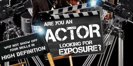 4K Actor Reels / Headshots / Photoshoot tickets