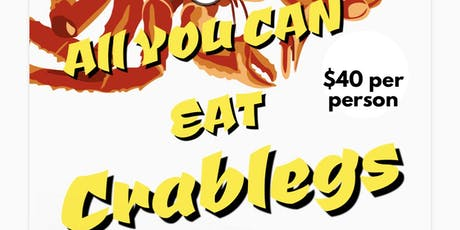 All You Can Eat Crablegs Is Back tickets