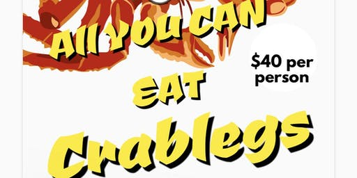 All You Can Eat Crablegs Are Back
