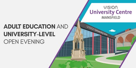 Adult Education and University-level Open Evening tickets