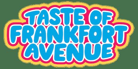 2019 Taste of Frankfort Avenue tickets