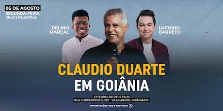 CLAUDIO DUARTE EM GOIÂNIA | PR LUCINHO E DELINO MARÇAL ingressos