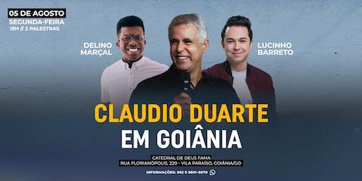 CLAUDIO DUARTE EM GOIÂNIA | PR LUCINHO E DELINO MARÇAL