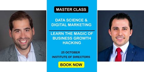Data Science & Digital Marketing: Business Growth Master Class | Afternoon tickets