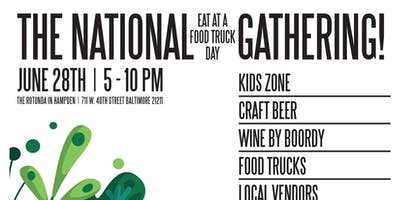 """""""The National Eat at a Food Truck Day"""" Gathering"""