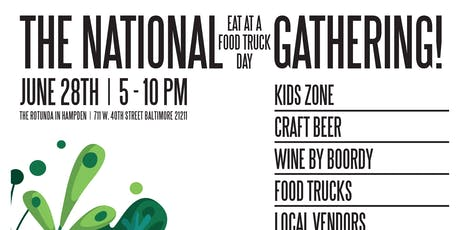 """The National Eat at a Food Truck Day"" Gathering tickets"