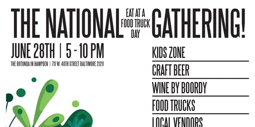 """The National Eat at a Food Truck Day"" Gathering"