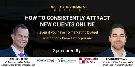 Double Your Real Estate Business Luncheon Kitchener-Waterloo tickets