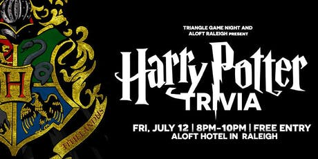 Harry Potter Trivia at Aloft Raleigh tickets