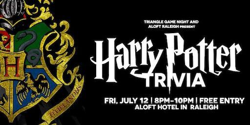 Harry Potter Trivia at Aloft Raleigh
