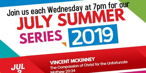 July Summer Series: The Compassion of Christ
