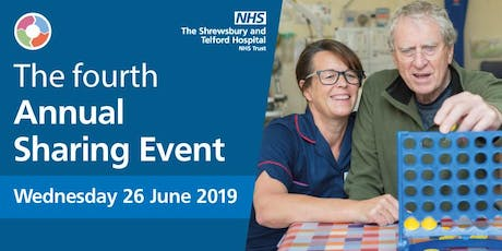 The Shrewsbury and Telford Hospital NHS Trust (SaTH) National Sharing Event tickets