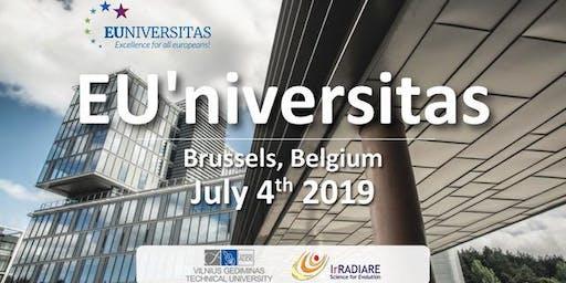 EU'NIVERSITAS- An University Alliance  open to Excellence, Europe, Future and Society