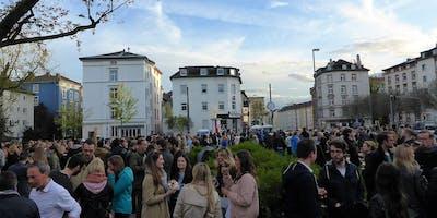 """Fr,02.08.19 Wanderdate - """"SingleTreff - Nightwalk zum Single-Markt am Friedberger Platz"""""""