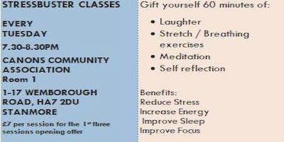 Stress buster classes