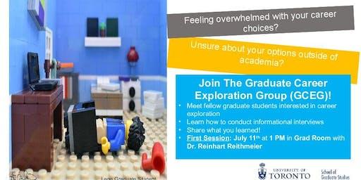 Graduate Career Exploration Group (GCEG) Orientation