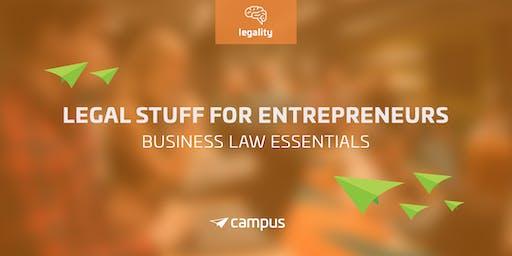 Legal Stuff for Entrepreneurs: Business Law Essentials