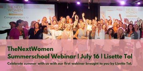 TheNextWomen | Summerschool Webinar tickets
