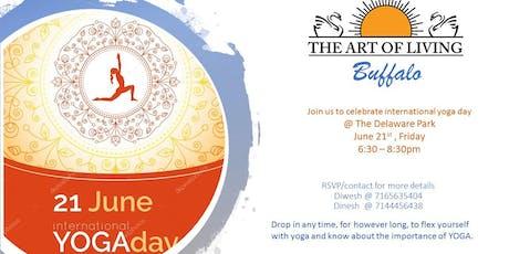 5th International Yoga Day in Buffalo tickets