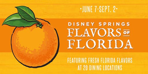 Disney Springs Flavors of Florida