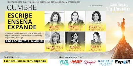 Cumbre Expande - Escribe, Enseña y Expande / Serie de entrenamientos  entradas