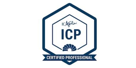 ICAgile Certified Professional (Agile Fundamentals - ICP) tickets