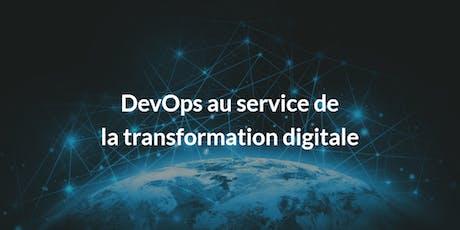 Webinaire : Relevez le défi de la transformation digitale avec DevOps billets