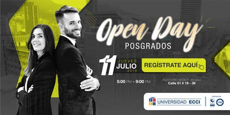 Open Day Posgrados Universidad ECCI entradas