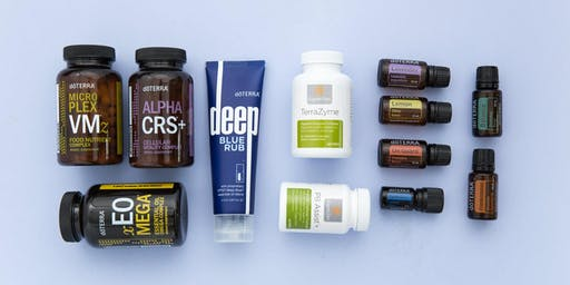 Daily Health Habits with Supplementation and Essential Oils