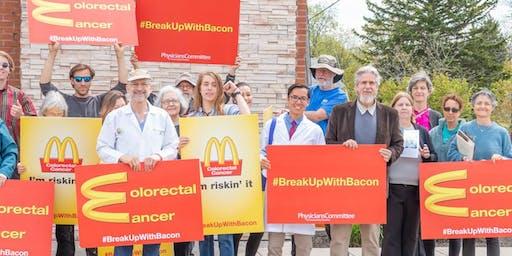 Doctor-Led Protest Confronting Burger King in University Hospital