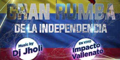 Gran Rumba De Independencia de Colombia tickets