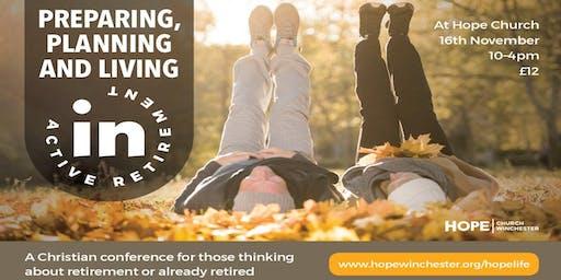 Preparing, Planning & Living in Active Retirement