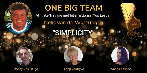"""Karatbars """"SIMPLICITY"""" Training met Nelis van de Wateringen"""