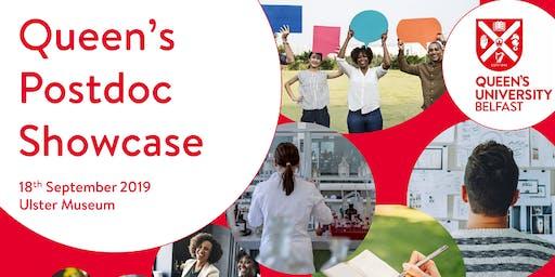 Postdoc Showcase 2019 (18 September 2019)
