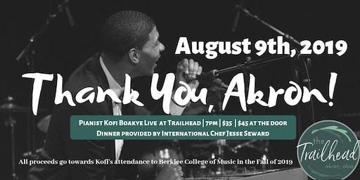 Kofi Boakye's Going-Away Concert