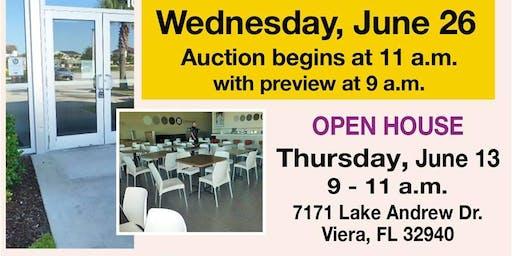 Restaurant Equipment Auction!