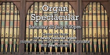 Organ Spectacular tickets