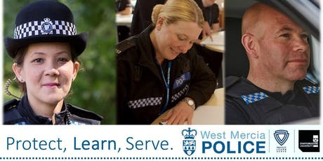 Student police officer recruitment open evening tickets
