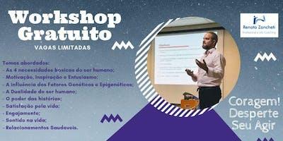 WorkShop de Inteligência Emocional: CORAGEM! Desperte seu Agir