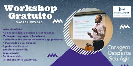 WorkShop de Inteligência Emocional: CORAGEM! Desperte seu Agir ingressos