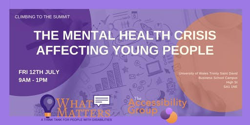 The mental health crisis affecting young people