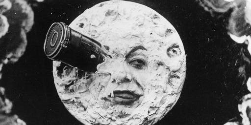 Stems play live to silent film A Trip to the Moon