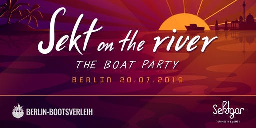 Sekt on the river - Wannsee Edition