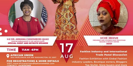 African Arts & Fashion Week DC Expo tickets