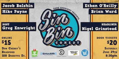 Sin Bin Comedy Show #42 tickets